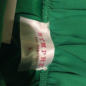 NYMPHE Skirts - NWT Large Emerald green skirt